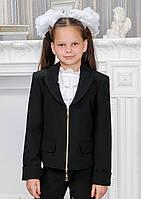 Школьный пиджак на змейке для девочки