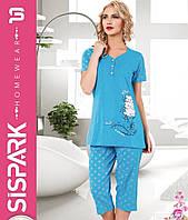 Пижама женская SIS-132 (капри)