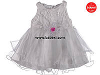 Красивое нарядное платье  для девочки 3 мес.код.203292