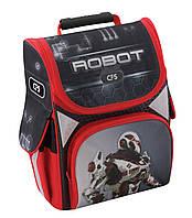 """Рюкзак(ранец) школьный каркасный 13,4 """","""" Robot """"701"""" для мальчиков"""
