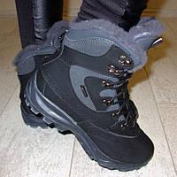 Ботинки зимние Ecco черные