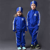 Спортивный костюм детский Adidas синий