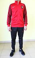Мужской спортивный костюм Nike 119591-760 f/p/f  красно-черный с белым код 354б