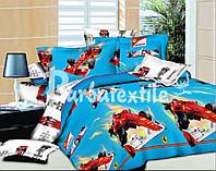 Полуторный набор постельного белья Ранфорс №048