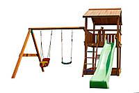 Детская площадка Spielplatz Виланд 1.2м Свинг - монтаж в подарок!