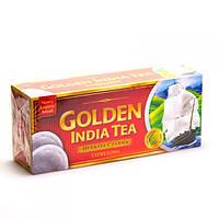 Чай черный пакетированный Exp. Golden India Tea 80 шт