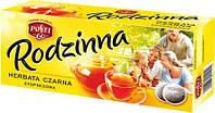 Чай черный пакетированный  express Rodzinna 80+30 шт