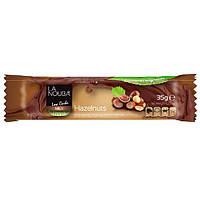 """Шоколадный Батончик низкоуглеводный  """"Молочный с фундуком и стевией"""" """"La Nouba"""" без сахара"""