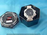 Часы Casio G-Shock GW A1100 белые мужские в коробочке водонепроницаемые противоударные подсветка календарь