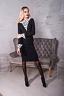 Платье женское с воротником, фото 1