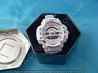 Часы Casio G-Shock GW A1100 RedBull 114235 белые мужские в коробочке водонепроницаемые подсветка календарь