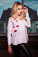 Блузка женская  губы, фото 1