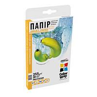 Фотобумага ColorWay полуглянцевая 255г/м, 10x15 PNG255-20 картонная упаковка