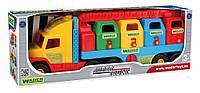 Іграшкова машина Suret Track сміттєвоз Wader 36530