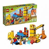 Lego Лего Duplo Большая стройплощадка 10813