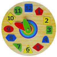 Годинник-пазл Геометрія 2 Р140