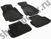 Коврики в салон Audi A4 sedan (B8) (07-) (полимерные) L.Locker Ауди А4 седан