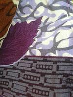 Красивое одеяло с рисунком  Листок