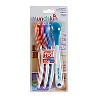 Ложки для детей, меняющие цвет, Munchkin, от 3 месяцев, 4 шт