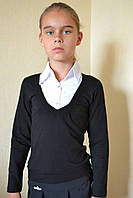 Обманка на девочку школьная 116-158
