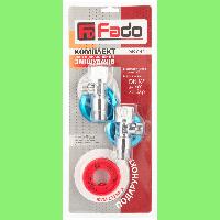 """Комплект для подключения смесителя 1/2"""" Fado Classic (2*KZ31+FN01)"""