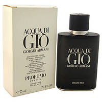 Мужская парфюмированная вода Acqua di Gio Profumo (men) 75ml edp (tester) от Giorgio Armani