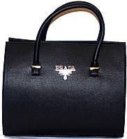 Сумка ,саквояж женская Prada(Прада)черный,рельефная шикарная копия в наличии