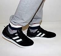 Мужские кроссовки под Adidas черные