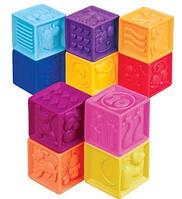Развивающие силиконовые кубики Посчитай-ка! Battat (BX1002Z)