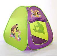 Детская палатка домик 805 Маша и медведь