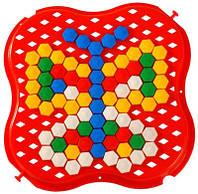 Развивающая игрушка Мозаика мини 130 элементов Тигрес 39112