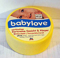 Крем детский Babylove с миндалем 150 мл