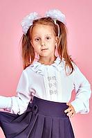 Детская школьная блузка для девочки №107