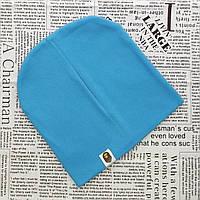 Качественная шапка ВАРЕ для детей от 8 лет светло синий