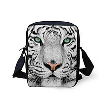 3D сумка с белым тигром.