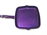 Сковорода гриль 29 см, гранитное покрытие
