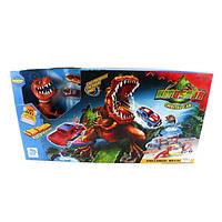 Трек Хот Вилс Динозавр 8899-93, машинки 2 шт., звук, 3хAG-13, в коробке 75*39*8,5 см