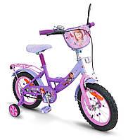 Велосипед двухколесный Disney Sofia the First 14'' Розовый (SP1401-14)