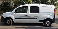 Рейлинги хром (метал. ножки) - Renault Kangoo (2008+/2013+)
