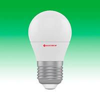 Светодиодная лампа LED 6W 4000K E27 ELECTRUM LB-9 (A-LB-1841)