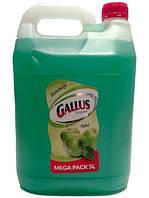 Жидкое мыло Gallus с ароматом яблока MEGA PACK 5 л.- Германия