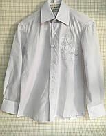 Детская рубашка белая для мальчика