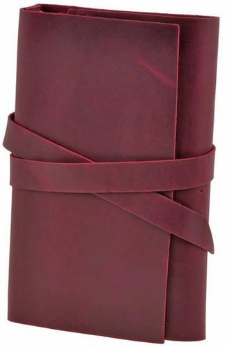 Комфортный кожаный софт-бук Гранат BlankNote BN-SB-1-st-gr бордовый