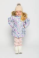 Куртка для девочки DT-8225 белая