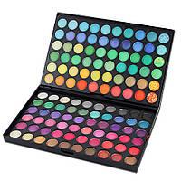 Профессиональные тени для век MAC 120 цветов №1 ,палетки теней