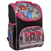 """Рюкзак Kite 1928 Monster High """"Монстер Хай"""" школьный каркасный детский  для девочек"""