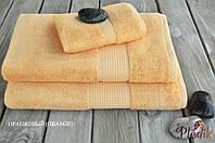 Бамбуковое махровое полотенце 70х140 MEVSIM ORANGE
