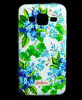 Чехол накладка для Samsung Galaxy Core Prime G360H силиконовый Diamond Cath Kidston, Прекрасные Незабудки