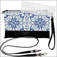 Женская сумочка клатч с орнаментом