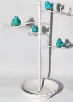 777-031 Вешалка для украшений Птички 36,5 см, ,белый